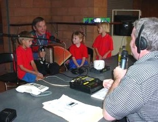 ABC Radio Qld broadcast 'on the road'
