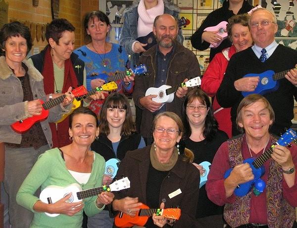 Teachers' ukulele workshop