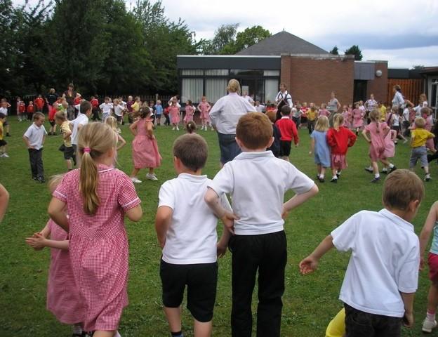 Dance workshop - whole school