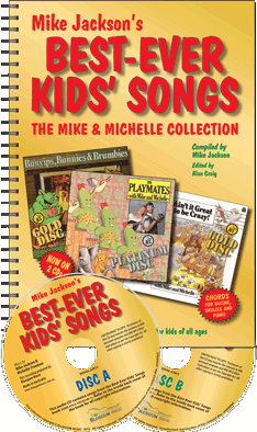 Best-Ever Kids' Songbook by Mike Jackson