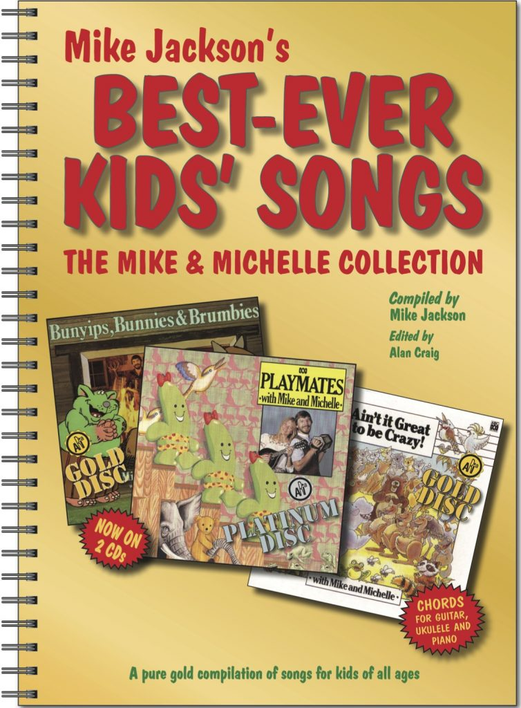 Best Ever Kids Songbook With 2 Cds Mike Jackson Family