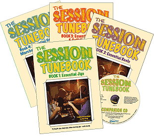 Session Tunebook Collection - Books 1-4 with CD