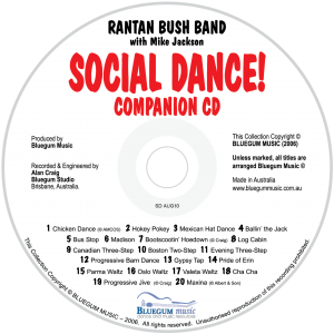 Social Dance CD only
